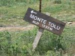 Verso il Monte Tolu