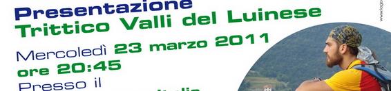 """ROBYDAMATTI partecipa alla presentazione """"Il Trittico Valli del Luinese 2011"""""""