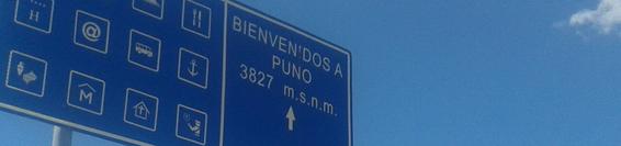 Siamo Arrivati a Puno!!!