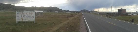 Verso la Bolivia…